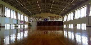 静かなる剣道場